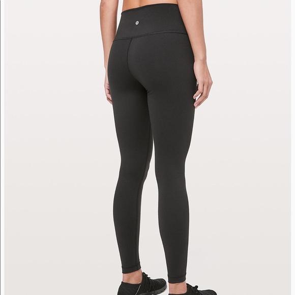59a87da76800f lululemon athletica Pants - Lululemon wunder under black leggings size 6